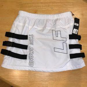 LF The Brand White Mini Skirt